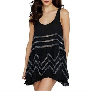 """FREE PEOPLE """"Voile and Lace Trapeze Slip Dress"""""""